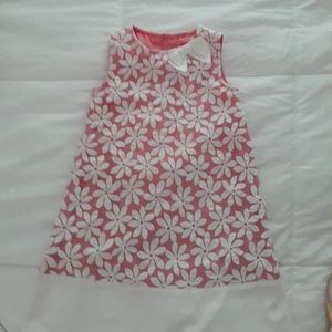 Gymboree Dress with White Flowers 5T